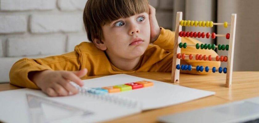اختلال یادگیری ریاضی درمان